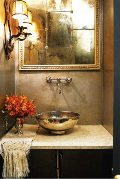 bohemian-powder-room