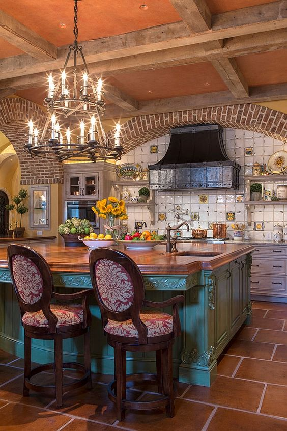 gorgeous Mediterranean kitchen