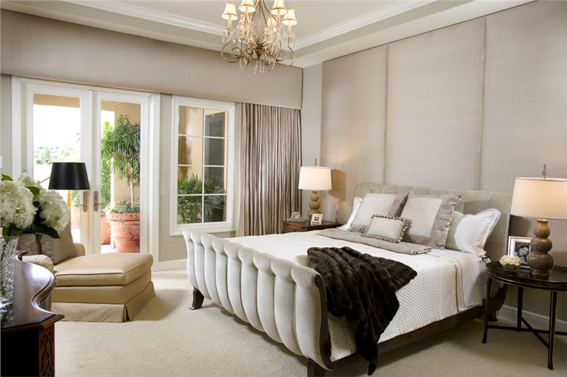 larger Elegant Transitional Bedroom