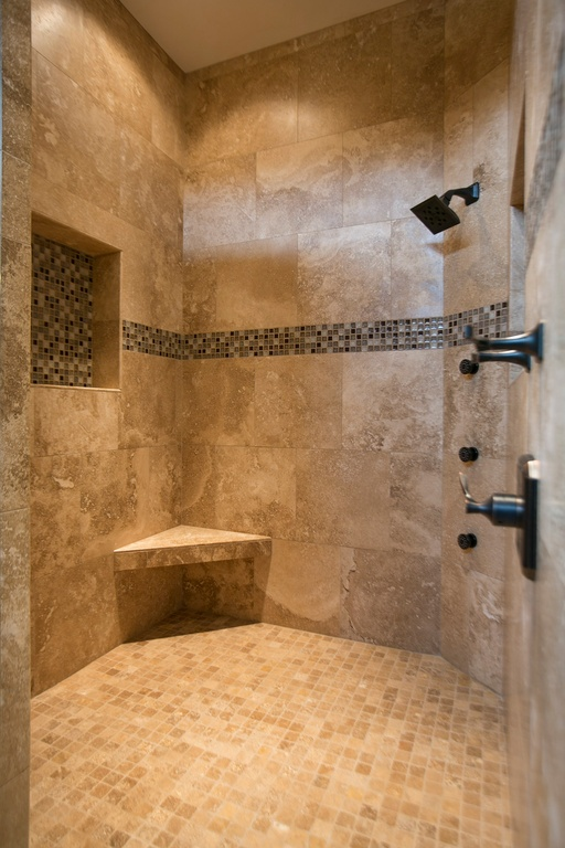mediterranean-bathroom-with-bathroom-tile-walk-in-shower