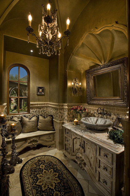 tuscan-powder-room