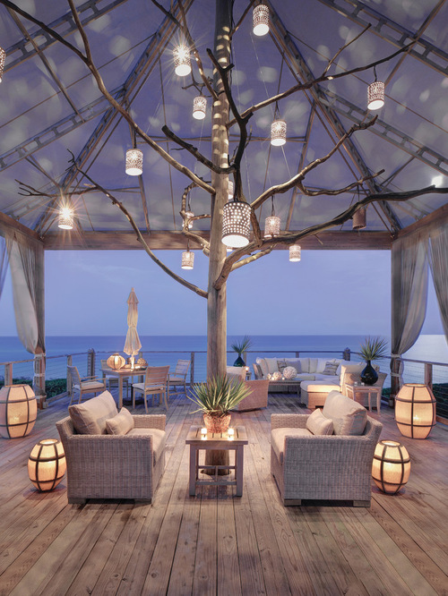 Beach Style Outdoor Design Ideas