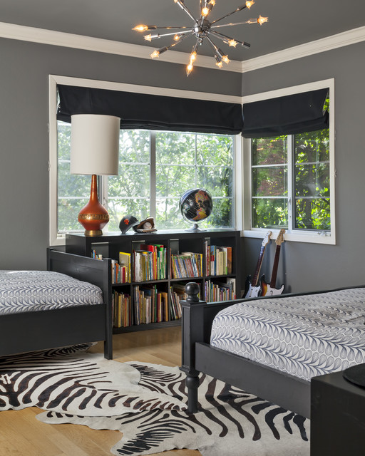 Contemporary Boys Bedroom contemporary-kids