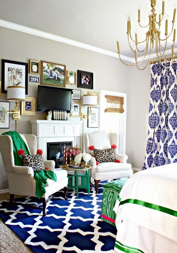 Eclectic Style Master Bedroom