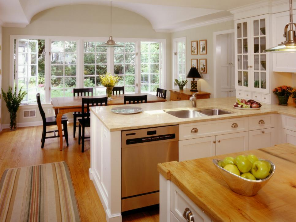 Elegant Transitional Kitchens