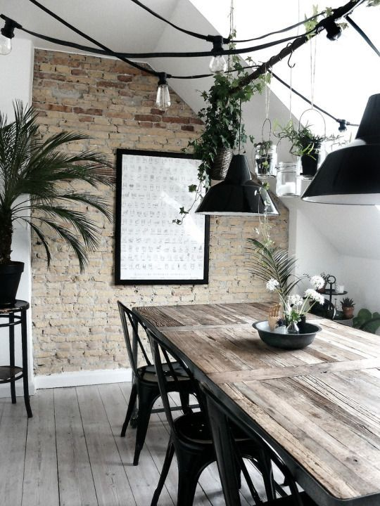 Industrial style decor ideas