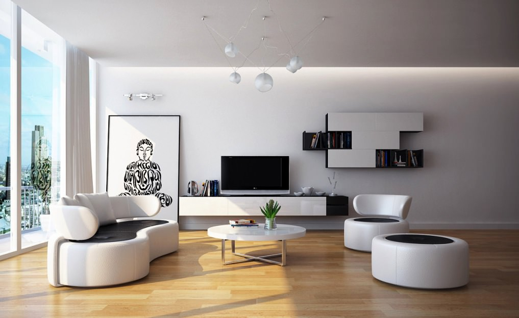 Modern Calssic Living Room Design