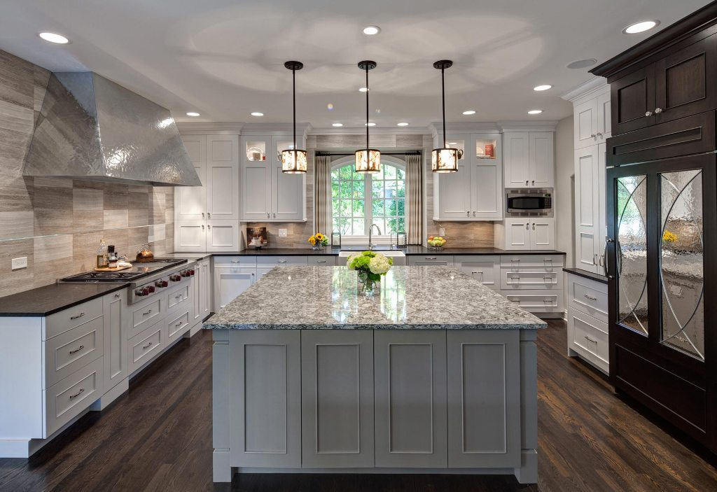 Multi-Functional Transitional Hinsdale Kitchen