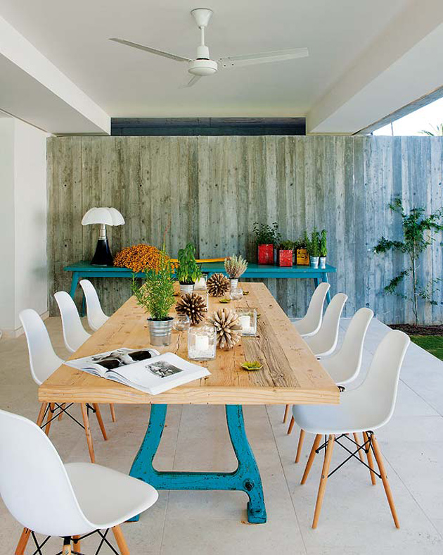 Spanish summer home with charming eclectic interiors