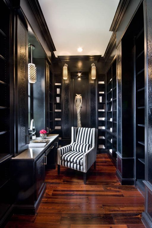 Stunning closet with Dressing table