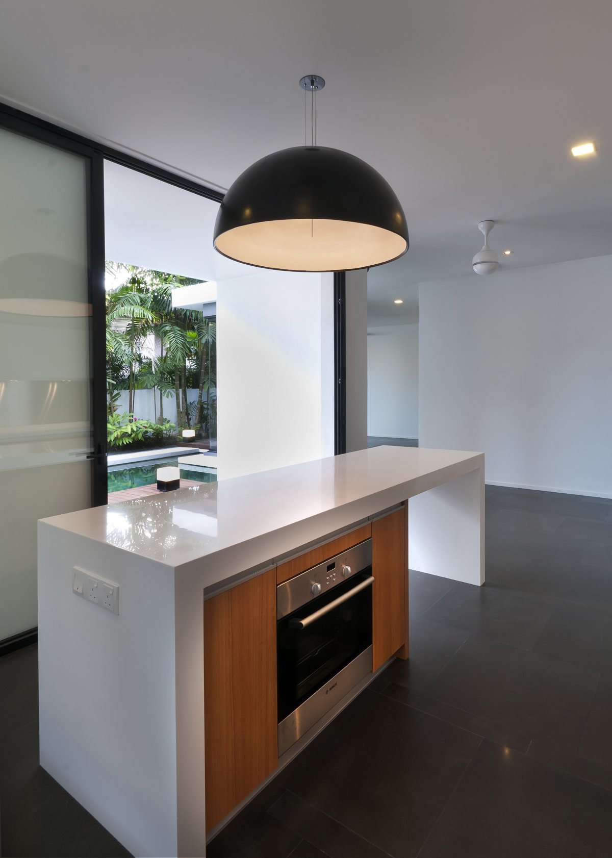 White Color Also White Granite Countertop