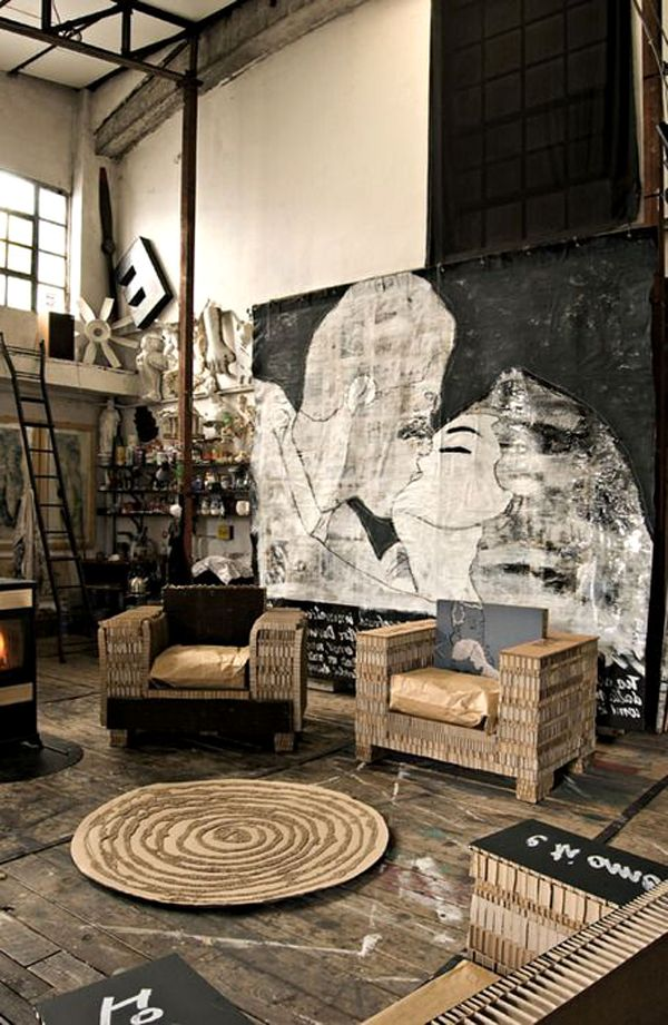 industrial-living-room-furniture-industrial-living-room