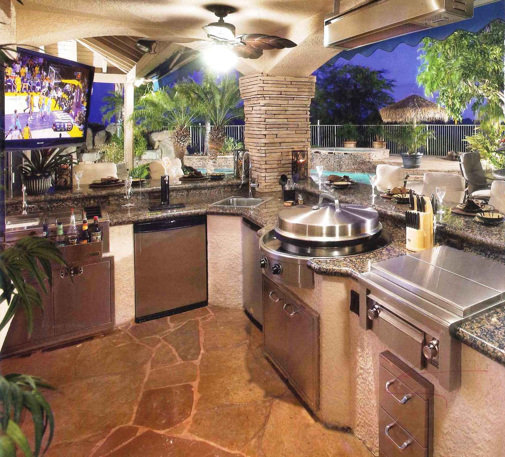 tremendous outdoor kitchen design idea