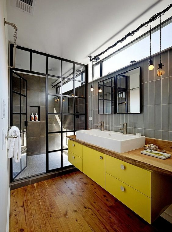 Amazing Industrial Bathroom Ideas