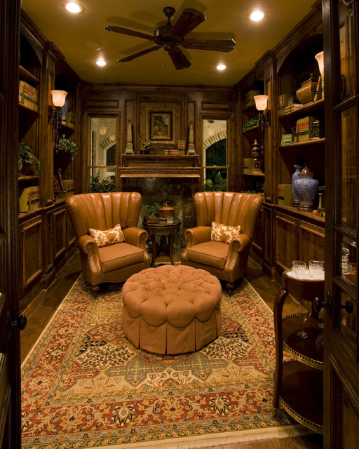 Custom Home Design traditional-home-office