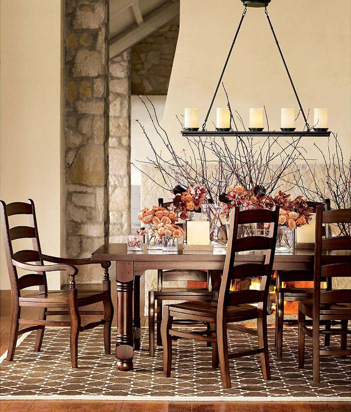 30 Incredible Eclectic Dining Designs: 30 Amazing Rustic Dining Room Design Ideas