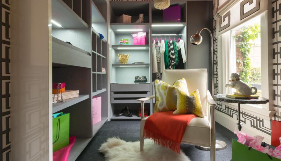 Eclectic Closet and Dressing Room