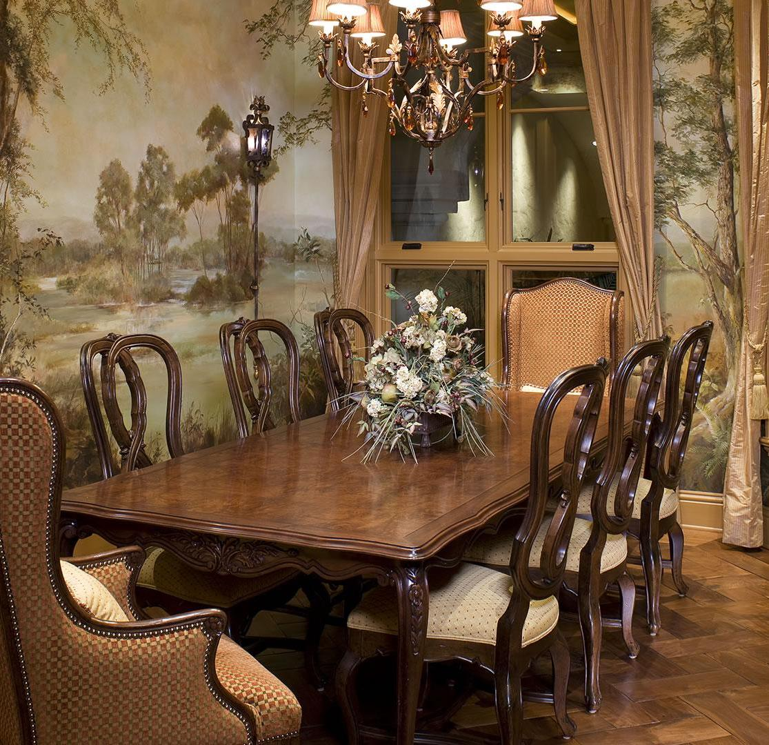 Formal Dining Room Home Design and Remodeling Ideas