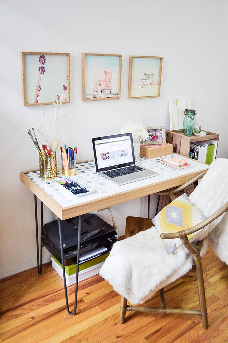 Home Office in a Tiny Apartment