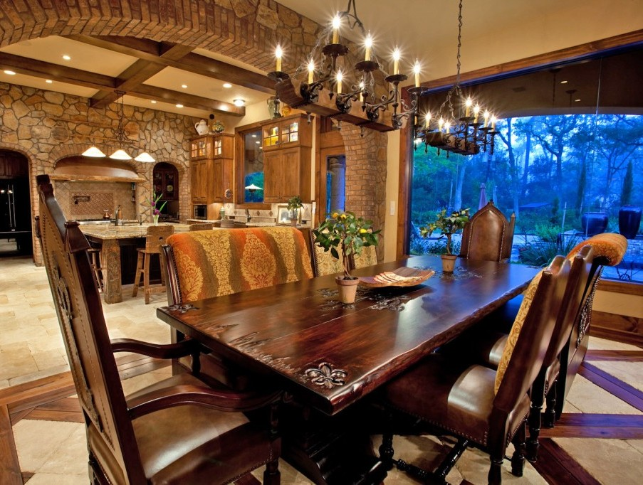 Images Of Mediterranean Dining Room Furniture