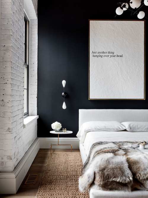 Industrial Bedroom Design decor