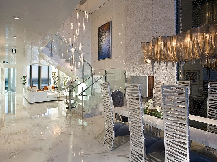 Jade Ocean Penthouse by Pfuner Design