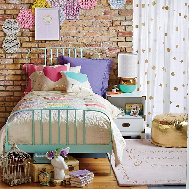 Kids-room-with-a-touch-of-eclectic-style