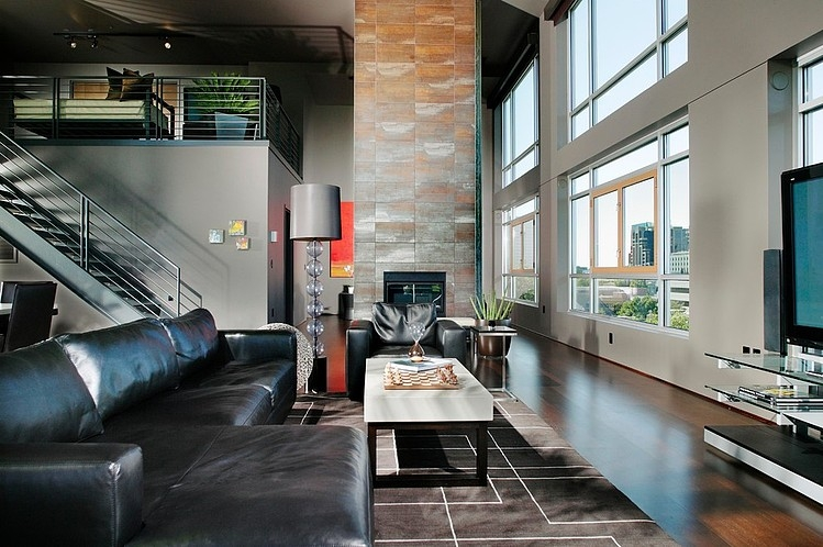 Modern Penthouse by Benning Design Associates