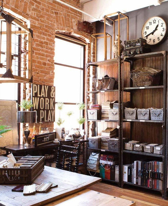 industrial home office ...