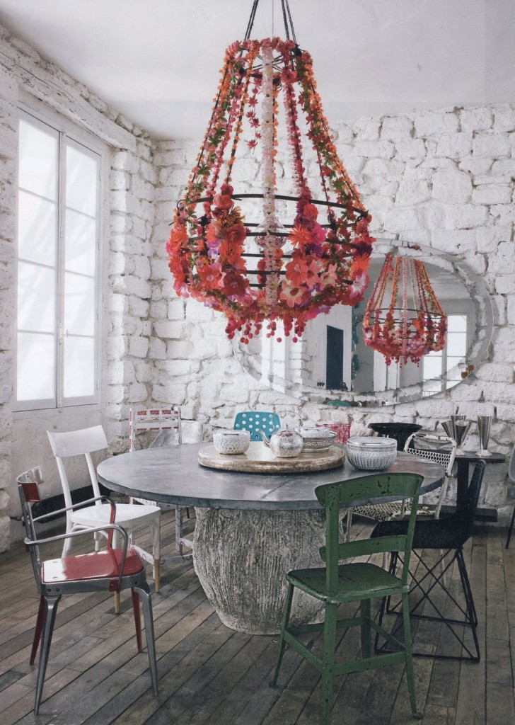 rusitc-eclectic-dining-room