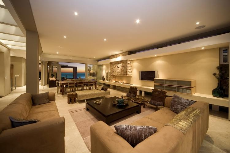 Large sea facing living room