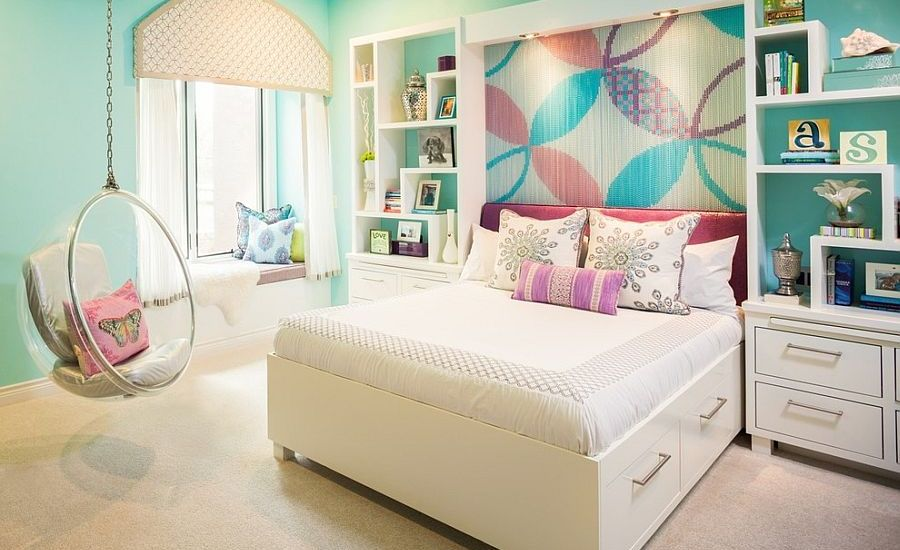 Colorful Chain Accent Kids Bedroom