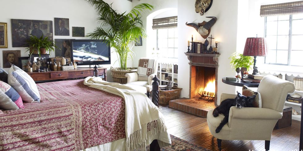 Cozy Open Bedroom Design
