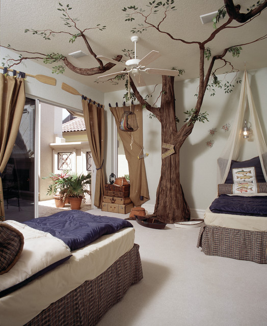 Forest Theme Kids Bedroom