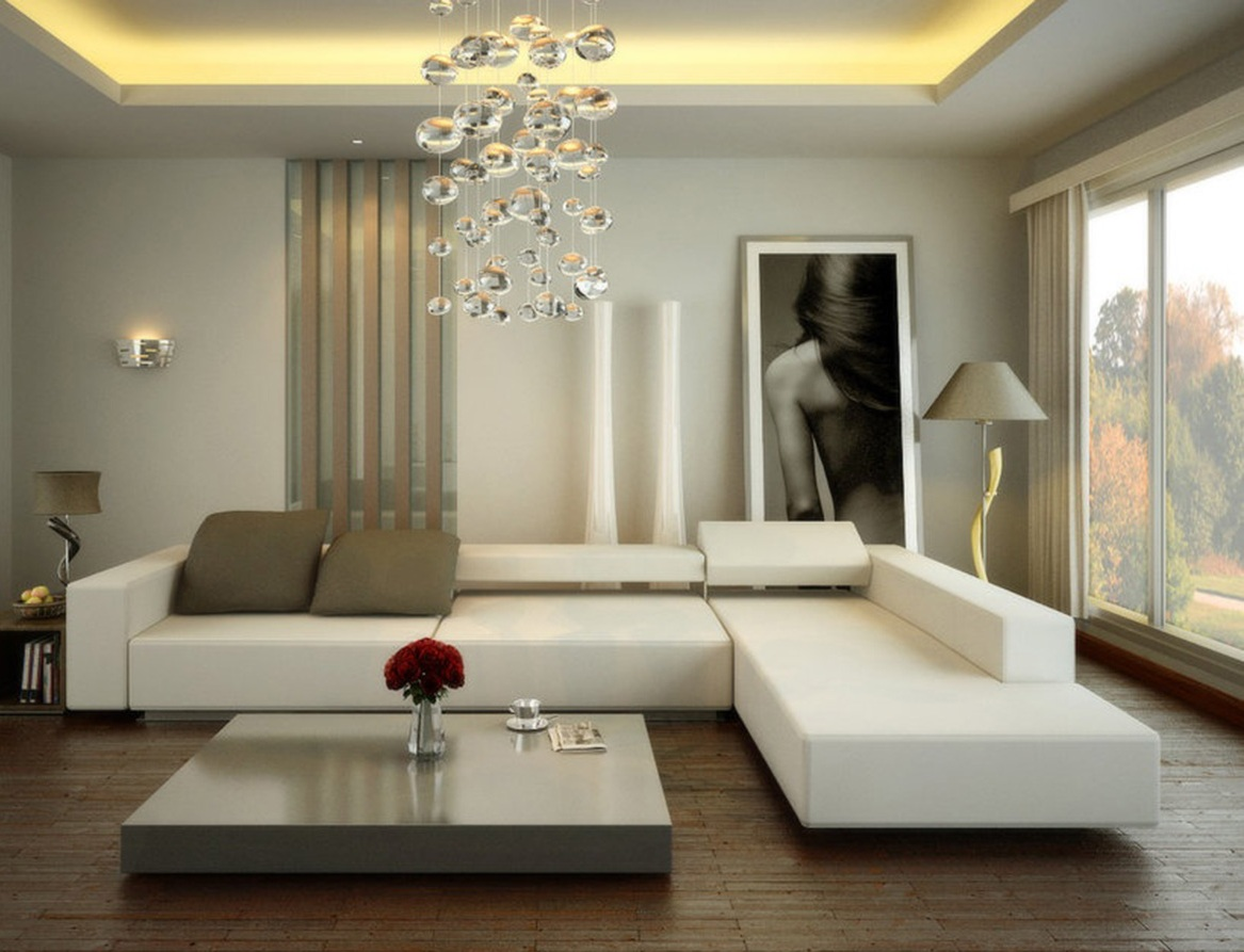 Lovely Contemporary Living Room