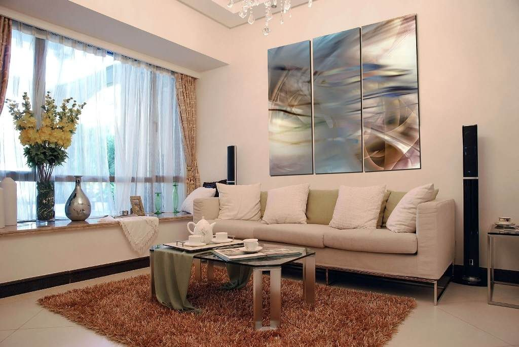 3 Panel Living Room Artwork