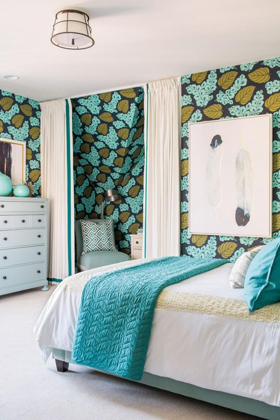 Bedroom Wallpaper Design Ideas (18)