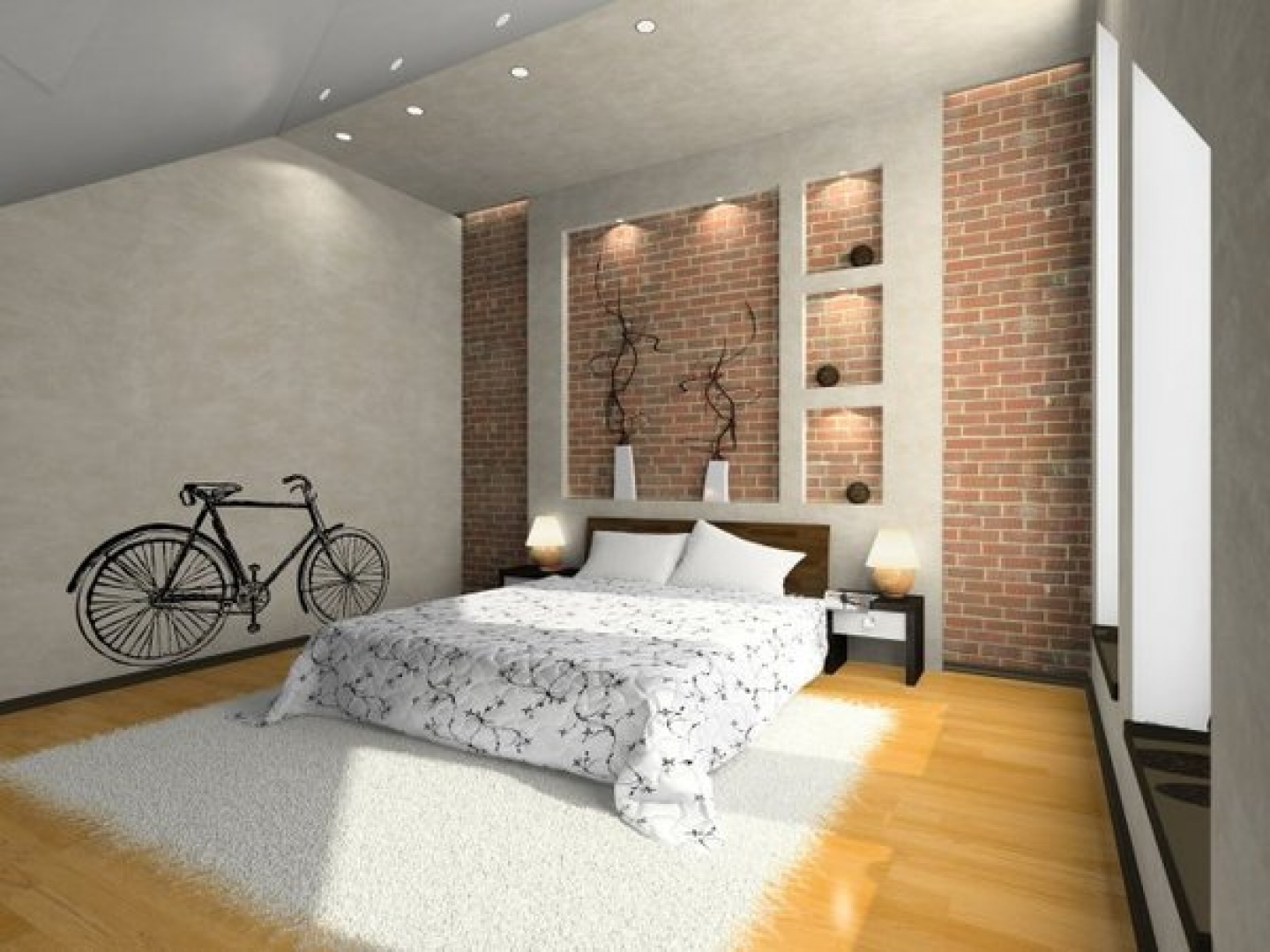Bike Bedroom Wallpaper