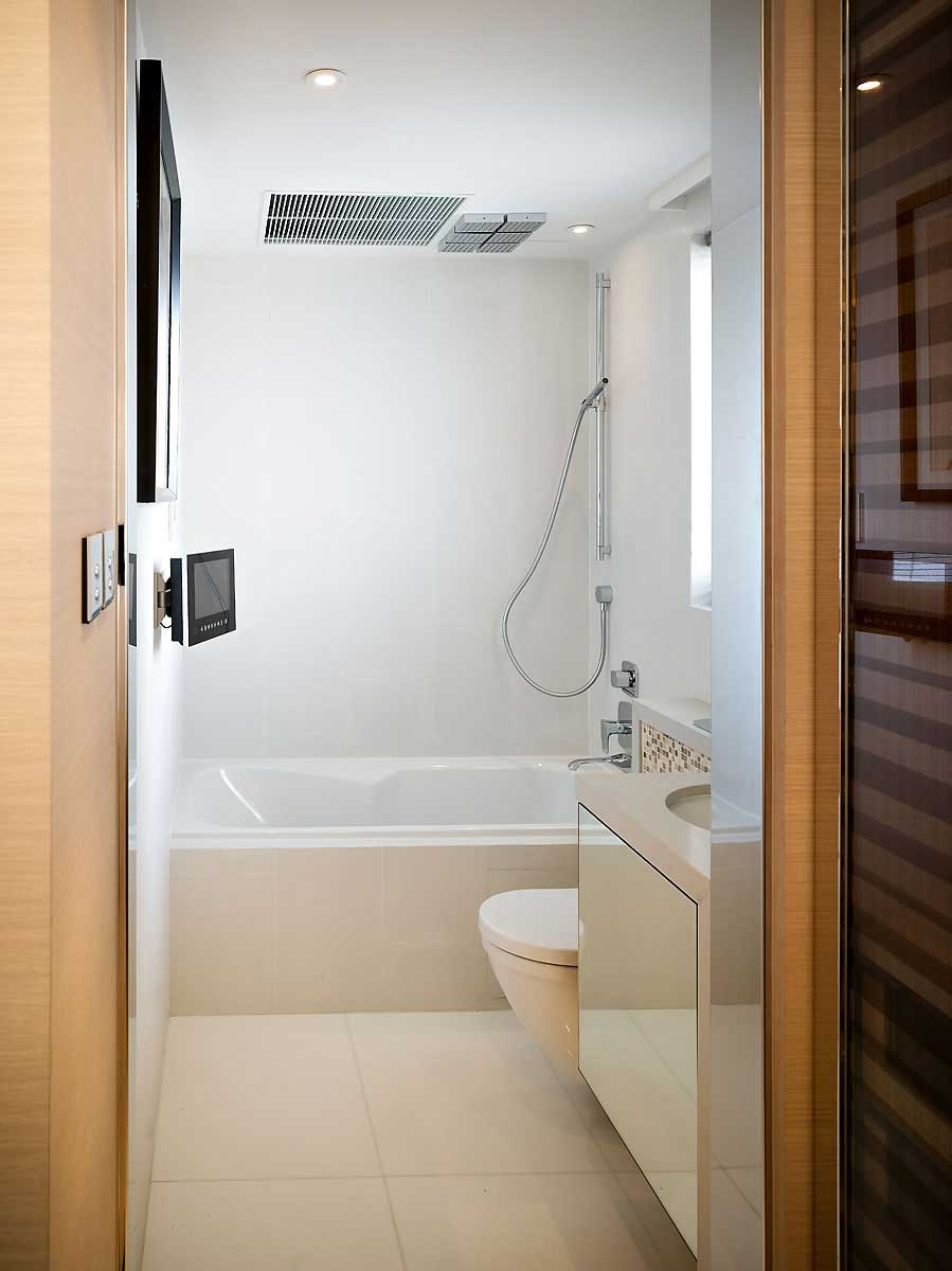 Cozy Small Bathroom Design