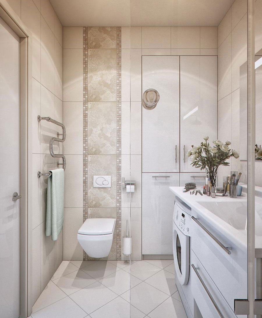 Modern Inspiring Small Corner Bathroom
