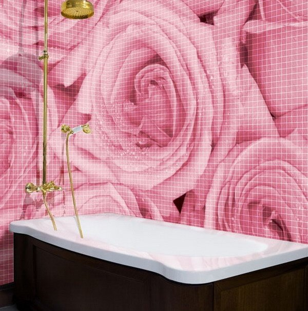 Romantic Pink Roses Wallpaper