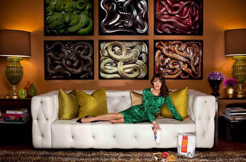 Snake Wall Art Living Room