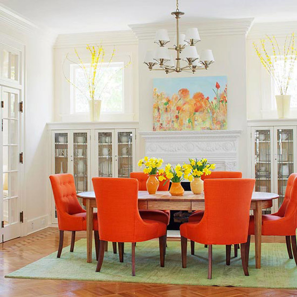 Stunning Colorful Dining Room (24)