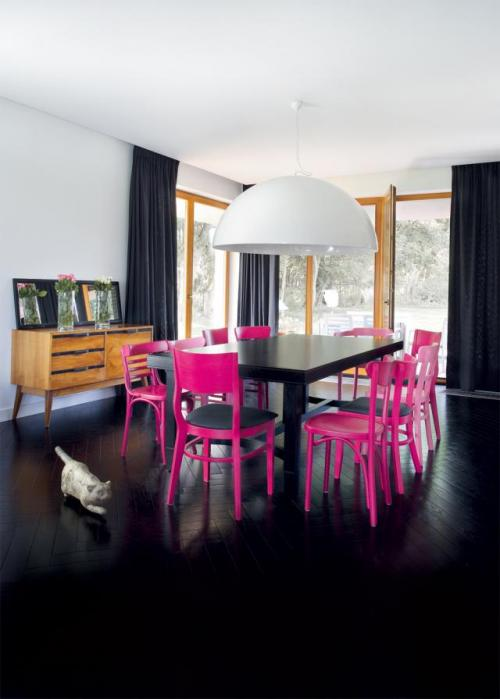 Stunning Colorful Dining Room (7)