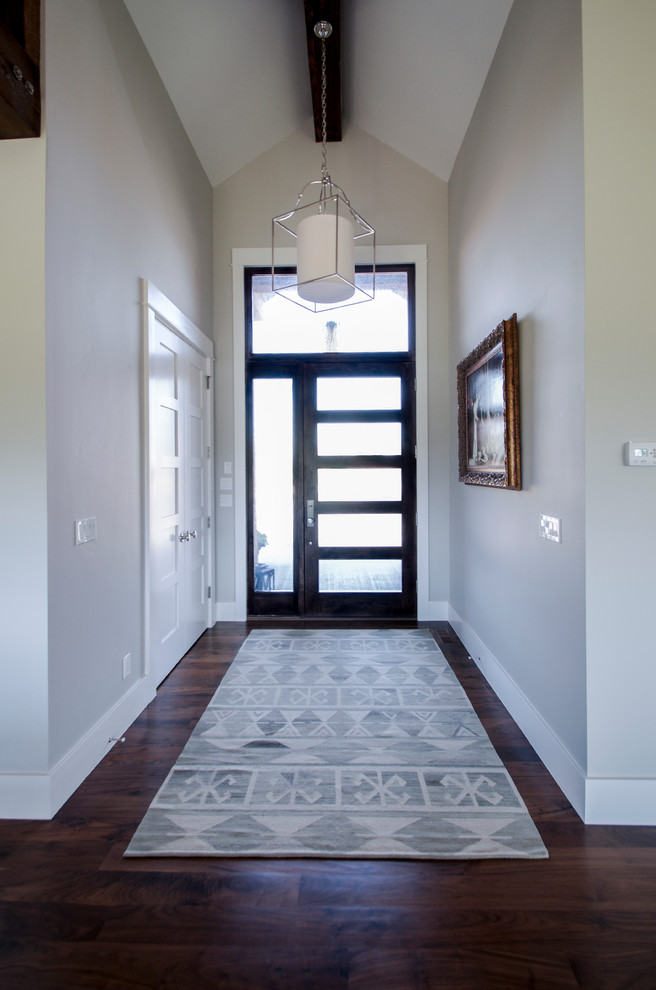 Modern Farmhouse Front Entry