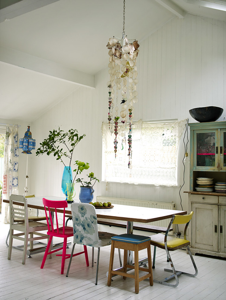 Shabby-Chic Style Dining Room