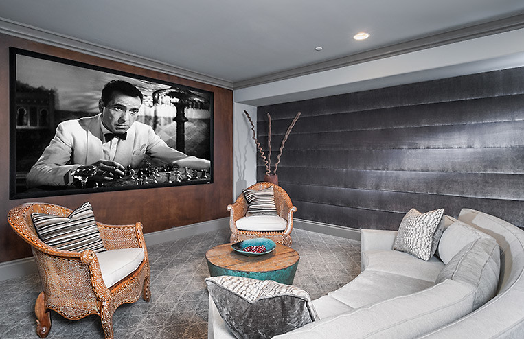 Asian Home Theater Design