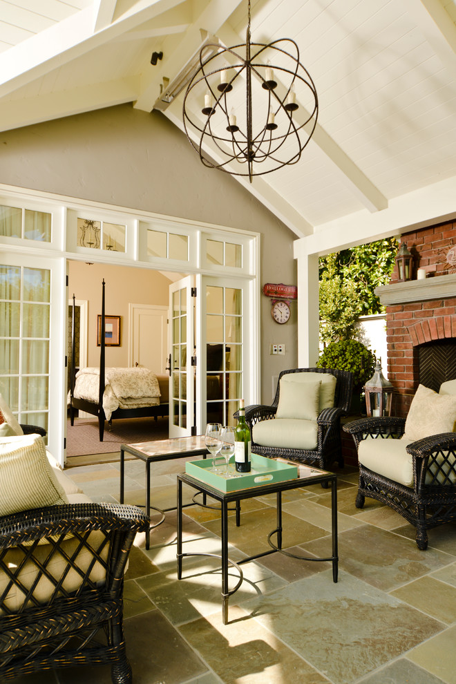 Craftsman Sunroom Design