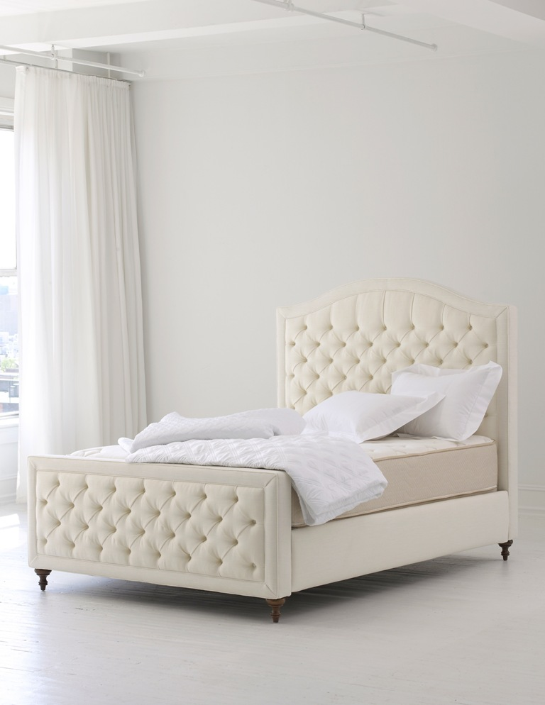 floral-white-tufted-headboard