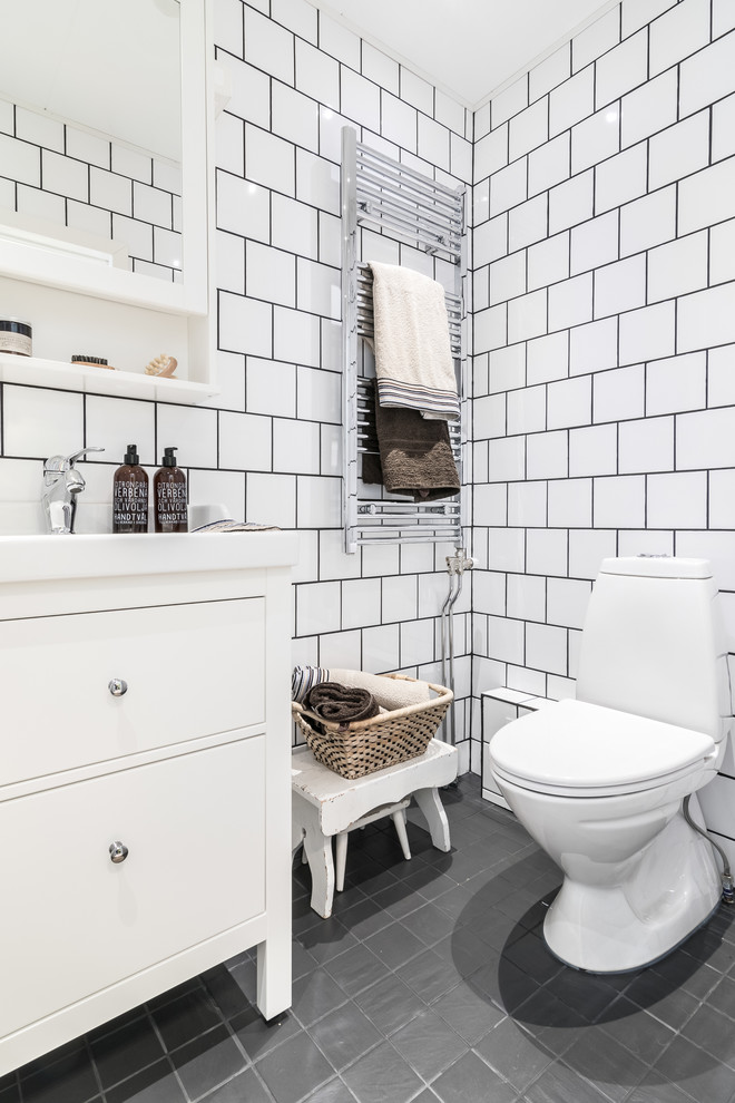 Scandinavian Powder Room Design